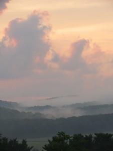 Pennsylvania mists, July 2013